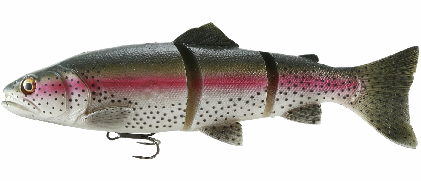 Savage Gear 3D Trout Perch Swimbait Line Thru Slow Sink 8in 3-1//3oz Pick
