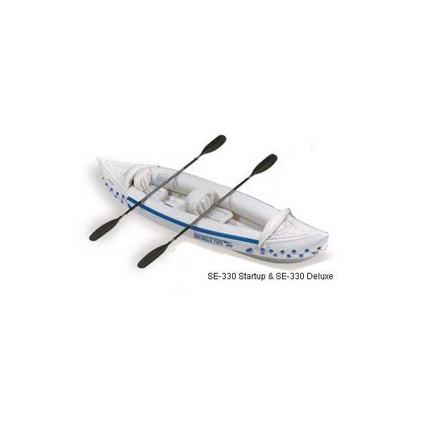 Sea Eagle SE-330 Deluxe Inflatable Rollick Kayaks