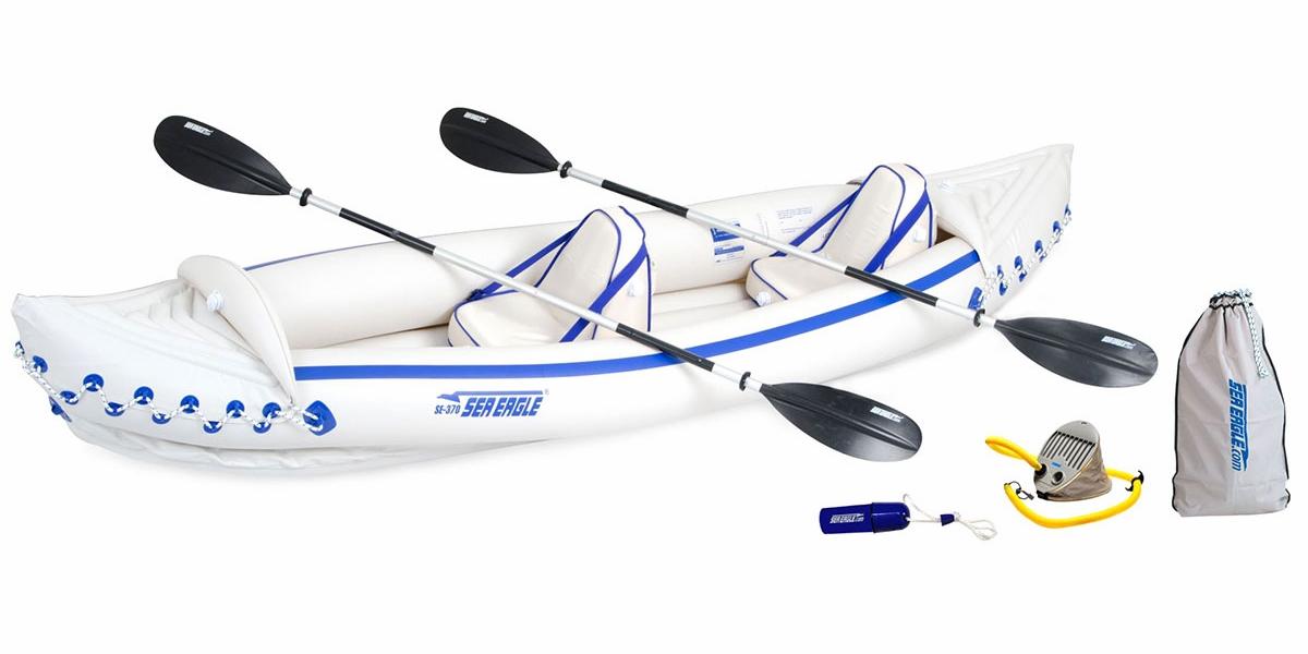 Sea Eagle SE-370 Pro Inflatable Caper Kayaks