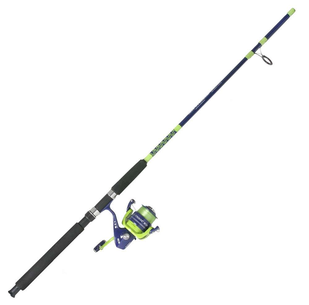 Sea striker bc5080 pre spooled pier and surf spinning combo for Surf fishing rods and reel combos