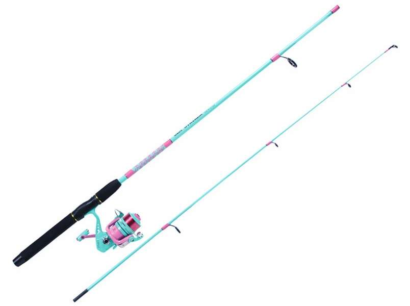 Sea striker pt50 ss70pg ladie 39 s pier surf spin combo for Ladies fishing rods