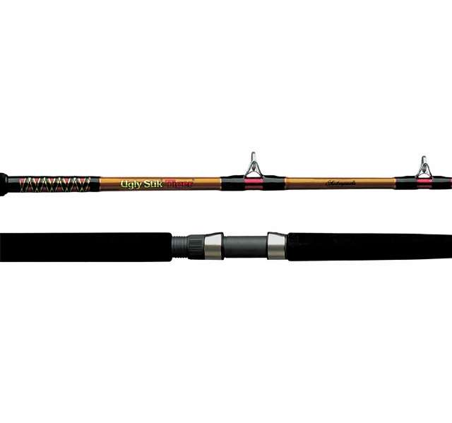 Shakespeare bwc 2200 70 ugly stik tiger rod casting for Ugly stik fishing rod