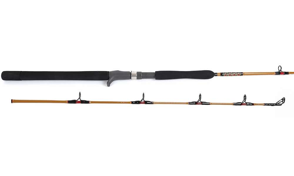 Shakespeare bwcjl 2200 63 ugly stik tiger lite jig rod for Shakespeare tiger fishing reel