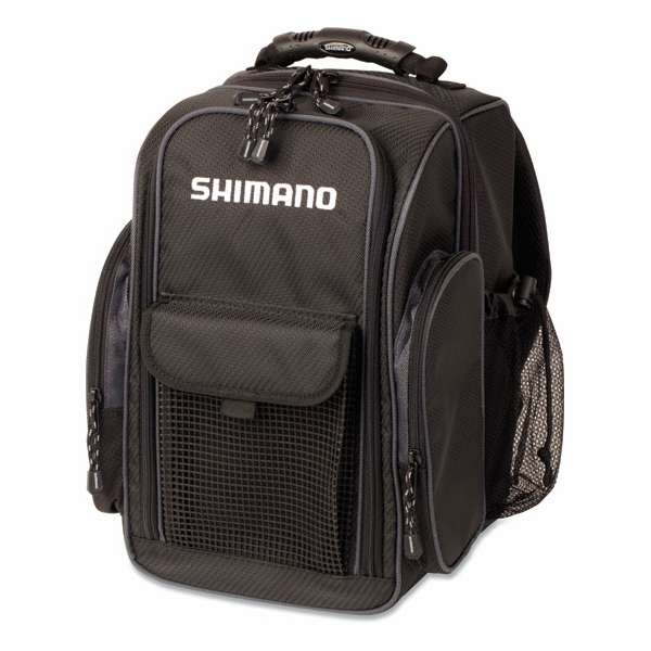 Shimano blmbp260bk blackmoon compact fishing backpack for Spiderwire fishing backpack