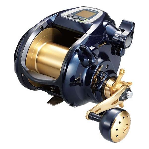 Shimano bm9000 beastmaster electric dendou reel tackledirect for Electric fishing reels