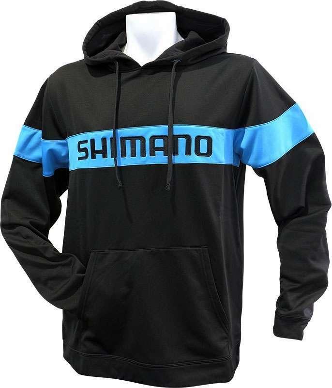 Shimano Escudo Pullover Hoodie - Black - XXL SHM-3214-4