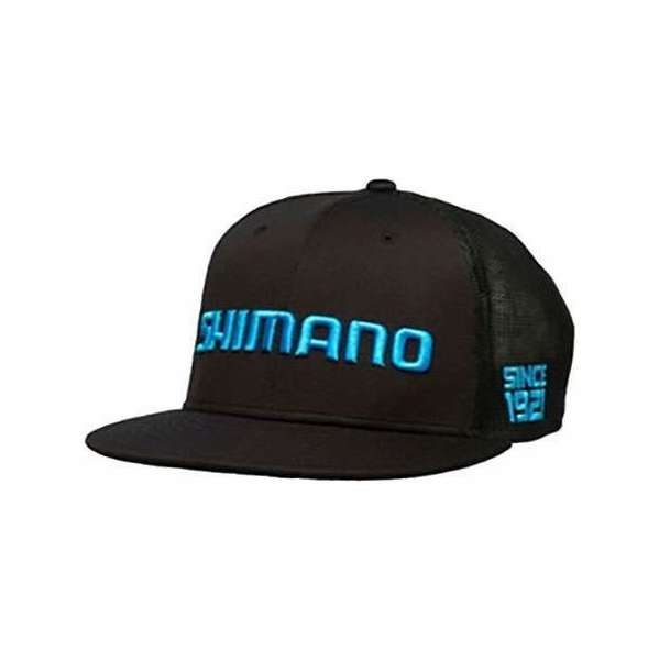 Shimano Flat Bill Hat - Black - XL SHM-3137-2