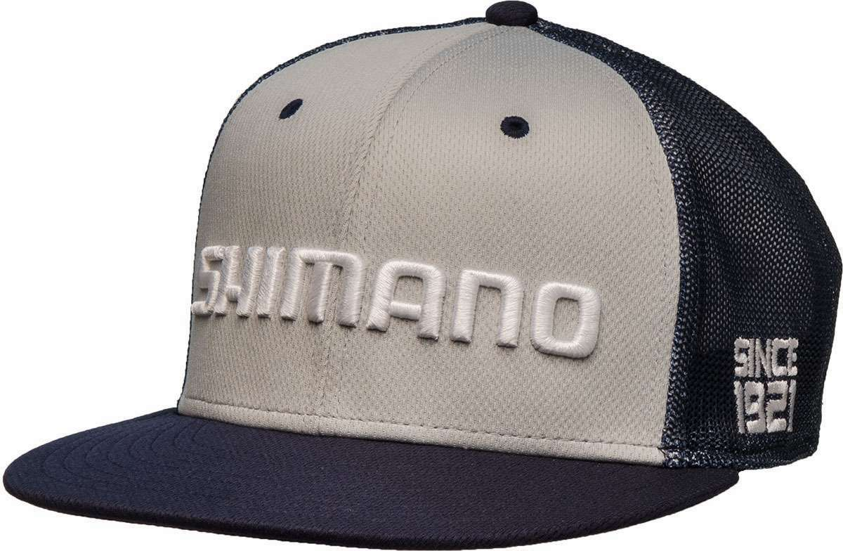 Shimano flat bill hat navy tackledirect for Fishing flat bill hats