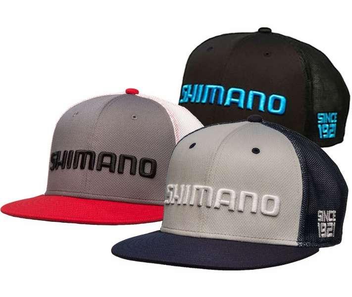 Shimano flat bill hat tackledirect for Flat bill fishing hats