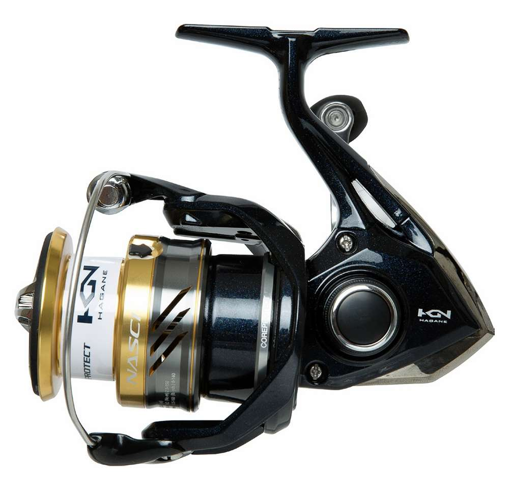 Shimano nas2500fb nasci spinning reel tackledirect for Fishing pole reel