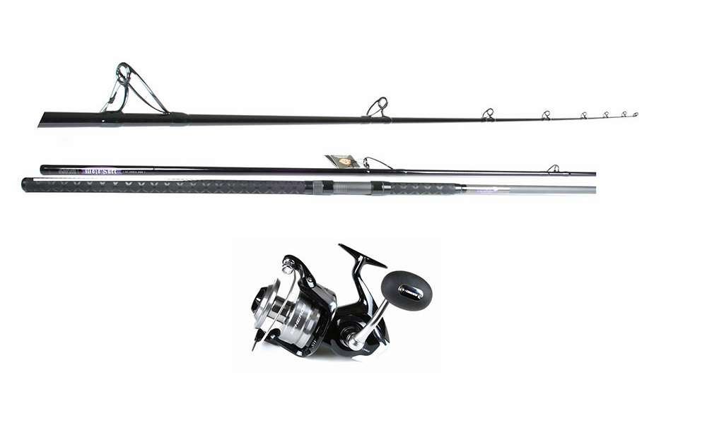 Blacktiph shark fishing combo standard tackledirect for Best surf fishing rod and reel combo