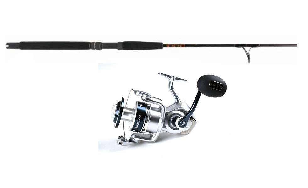 Shimano SRG10000SW Saragosa Cobia Fishing Combo