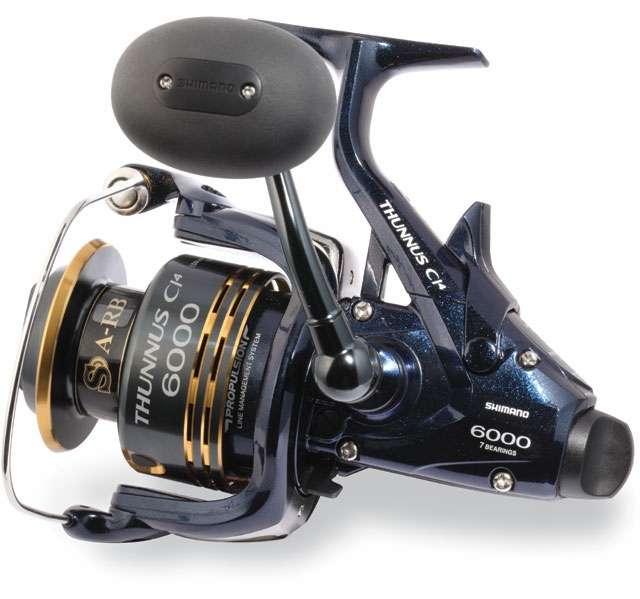Shimano thunnus tu6000ci4 spinning reel for Tuna fishing reels