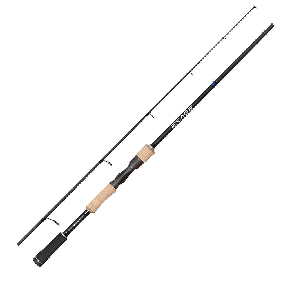 Shimano xas70m exage bass spinning rod tackledirect for Bass fishing poles