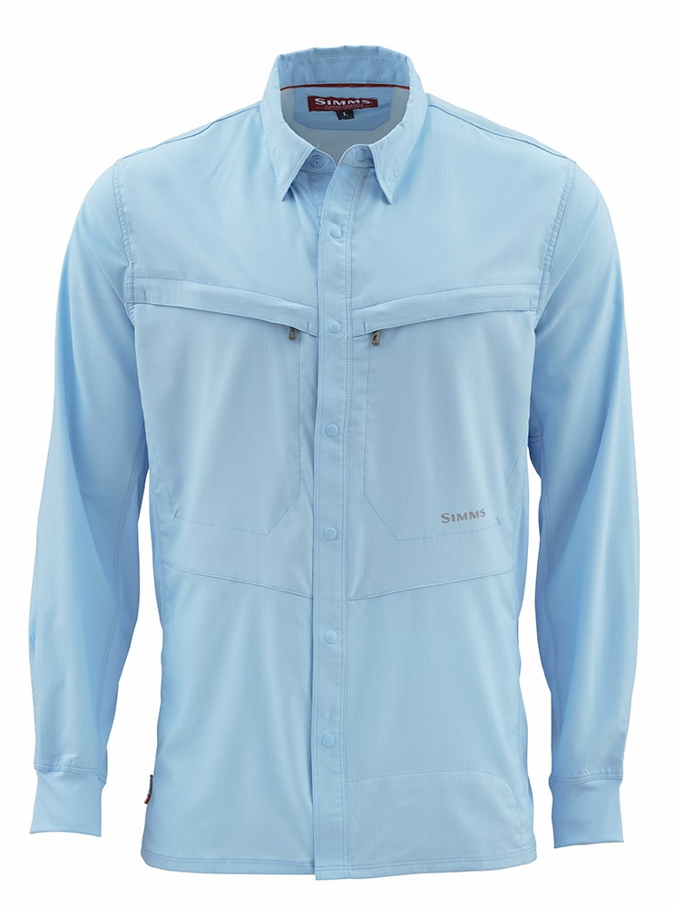 Free US Shipping Hex Camo Sky Blue Simms Intruder Bicomp LS Shirt
