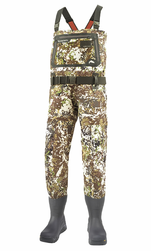 waders simms g3 camo guide bootfoot river wader stockingfoot vibram foot sole chest boot felt orvis medium pro fishing tackledirect