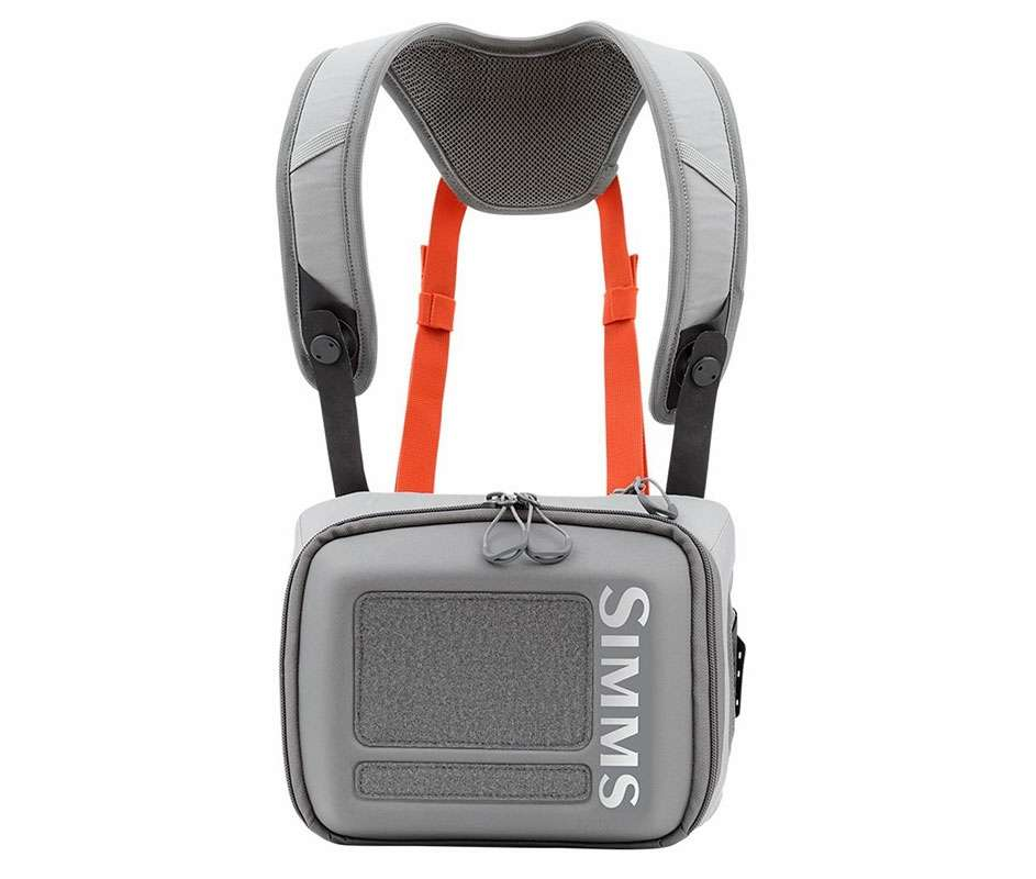 Simms PG-11016 Waypoints Chest Pack - Gunmetal