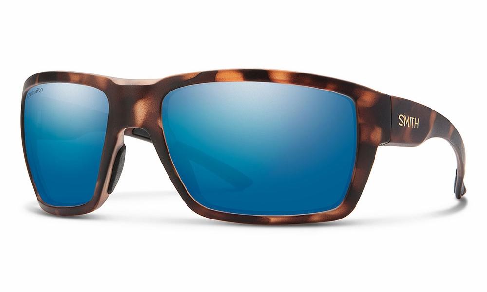 3e9df3cd07 Smith Optics Highwater Sunglasses - Matte Tortoise Polar Blue - TackleDirect