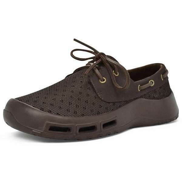 Softscience Men 39 S Fin Fishing Shoes Brown Tackledirect