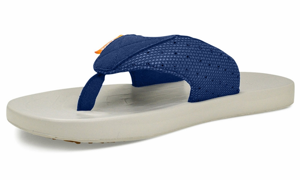 0890cabfd610bb SoftScience Waterfall Mesh Mens Sandal Blue 13