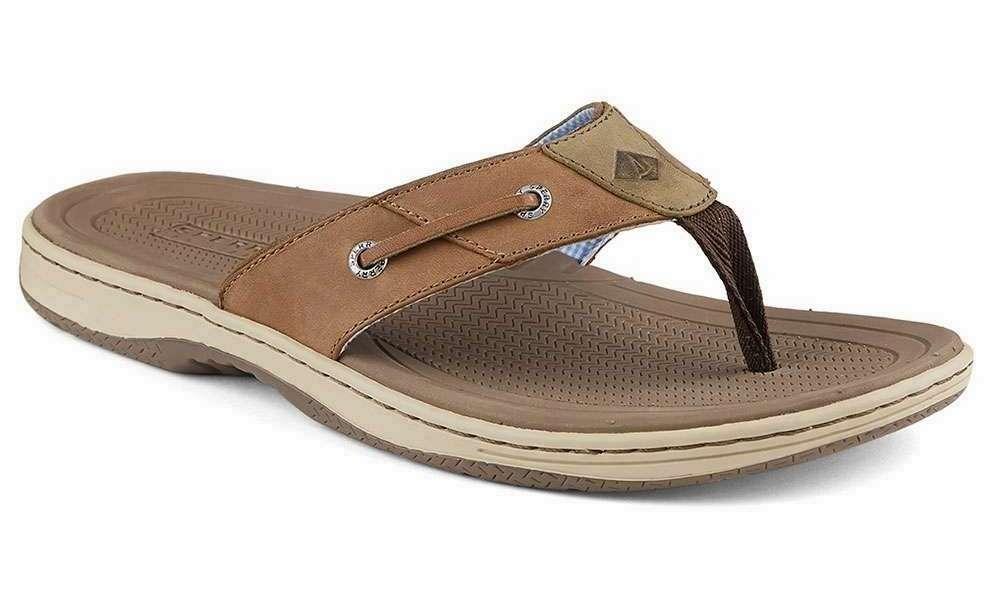 e33da910b03da9 Sperry Baitfish Thong Sandals