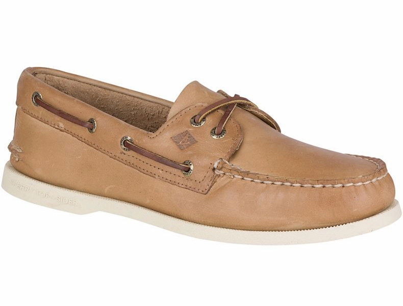 Sperry Top Sider Men's Authentic Original Boat Shoe Oatmeal 8M