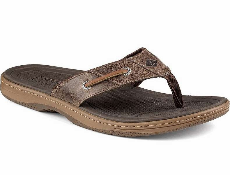 Sandal 7m Sperry Brown Thong Baitfish xBrCoWde