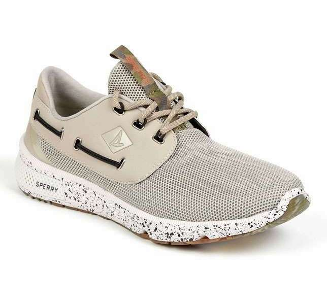 Sperry S Men S  Seas Camo Boat Shoe