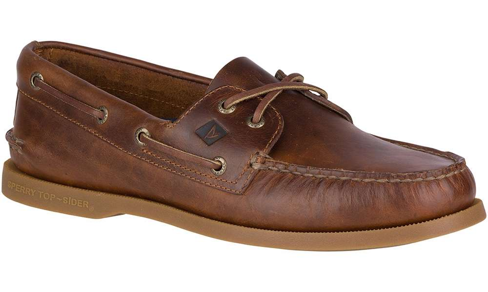 Sperry 2-EYE - Boat shoes - brown rdXISS
