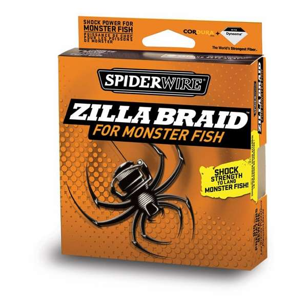 Image result for SPIDERWIRe ZILLA BRAID