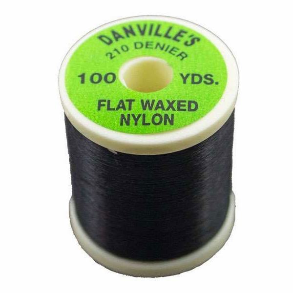 Spirit River Flat Waxed Nylon Thread Fl Red SRV-0014-2
