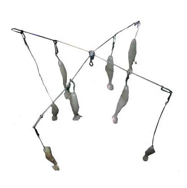 Sportfish products shad umbrella rig for Shad fishing rigs