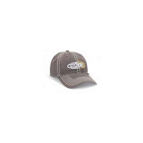 33327dc2e0121 St. Croix CSTCG Grey Logo Cap