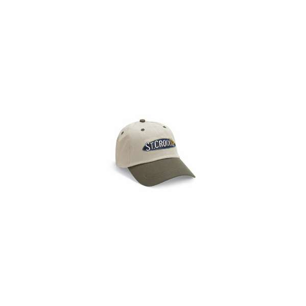 337e30c1d8b5a St. Croix CTKM Two-Tone Twill Logo Adjustable Strap Cap