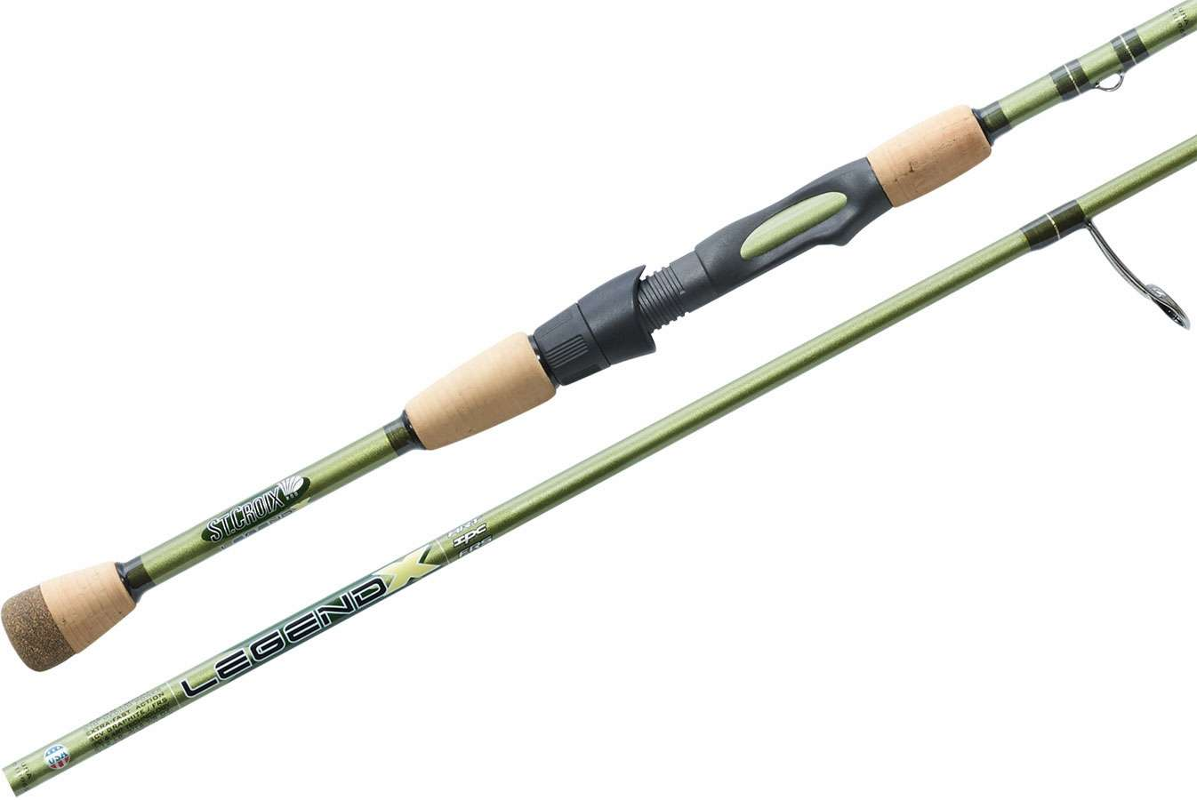 St croix xls610mlxf legend x spinning rod 6 ft 10 in for Freshwater fishing rods