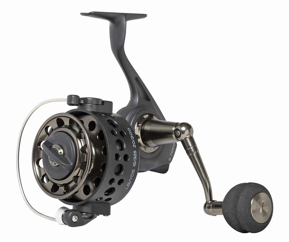Star rods s7000 s series spinning reel tackledirect for Best fishing line for spinning reels