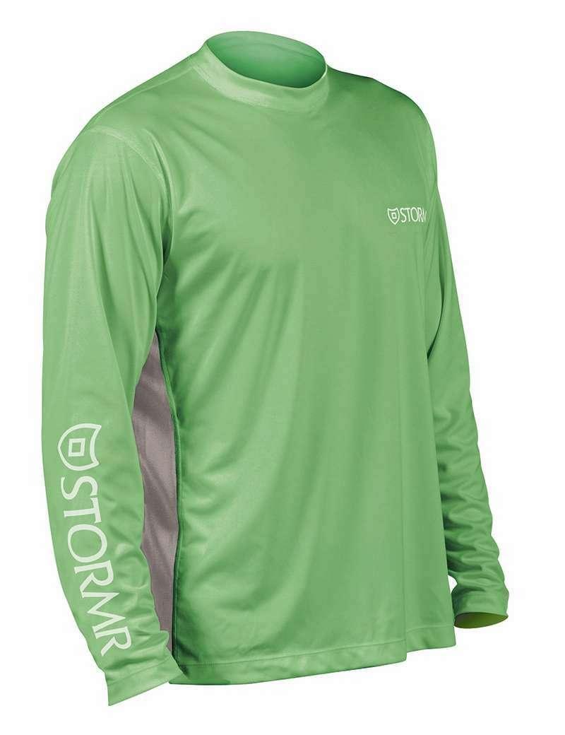Stormr rw215m 91 men 39 s uv shield long sleeve shirt mint for Uv shirts long sleeve