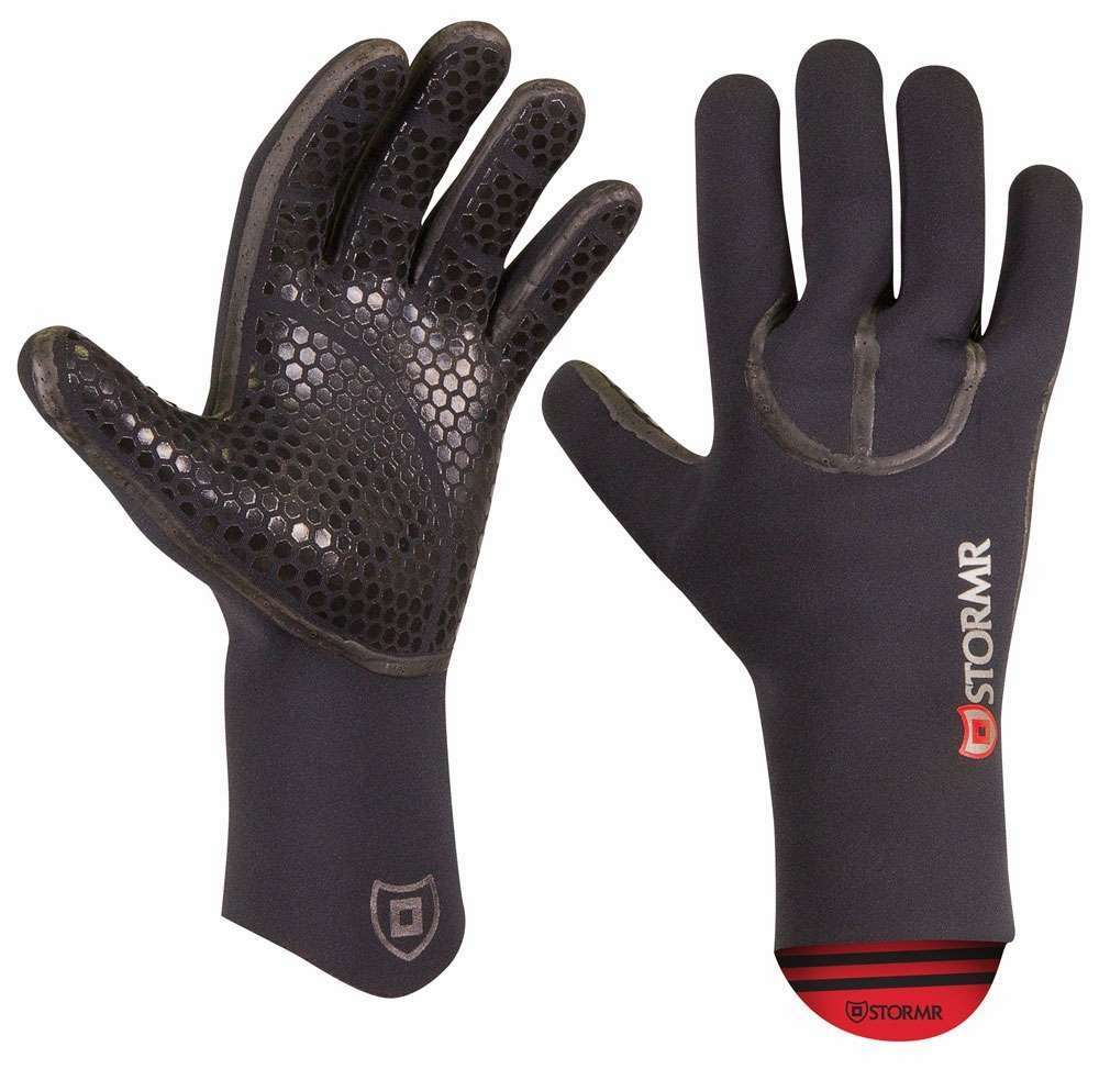 Stormr typhoon neoprene gloves tackledirect for Neoprene fishing gloves