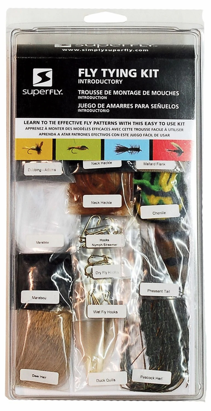 KIT-06 Superfly Introductory Fly Tying Kit