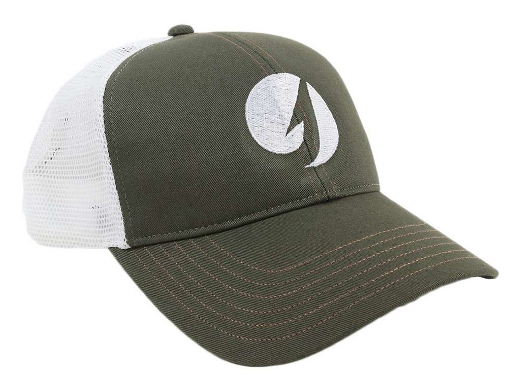 0257ddf26a41b TackleDirect 10952-307-TDLOGO CBP Trucker Cap with TD Logo - Hunter  Green White