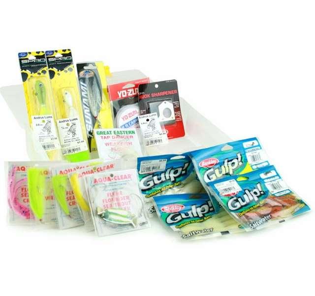 Shakespeare Fluke//Flounder Complete Fishing Kit Brand New