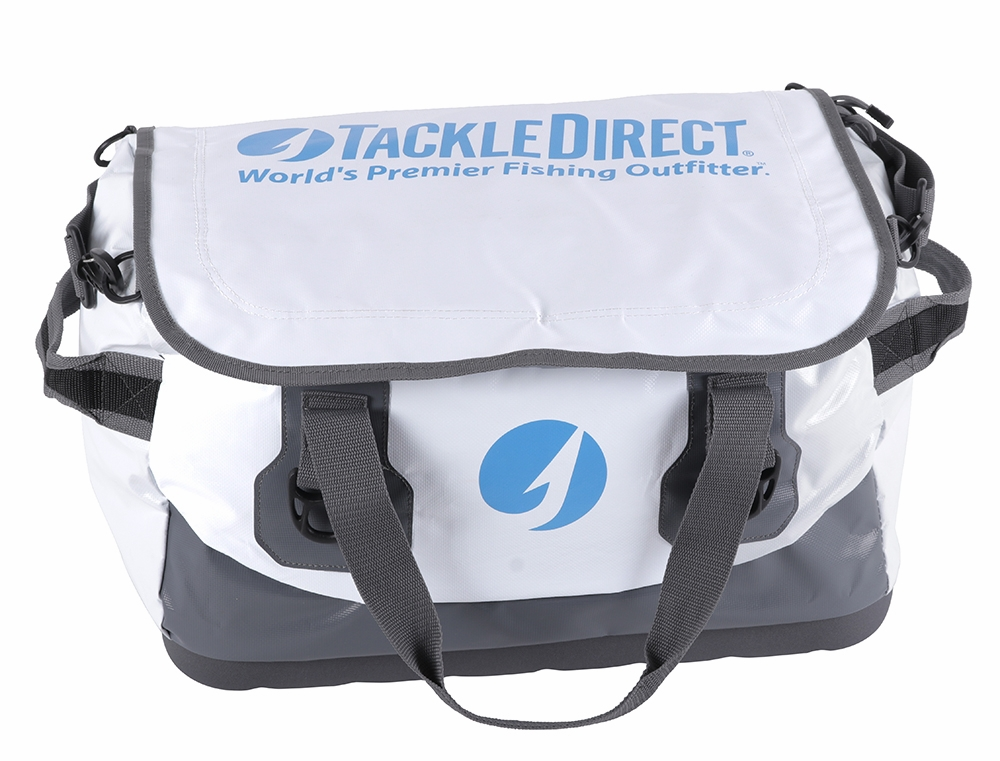 Tackledirect New Generation Boat Bag White And Gray