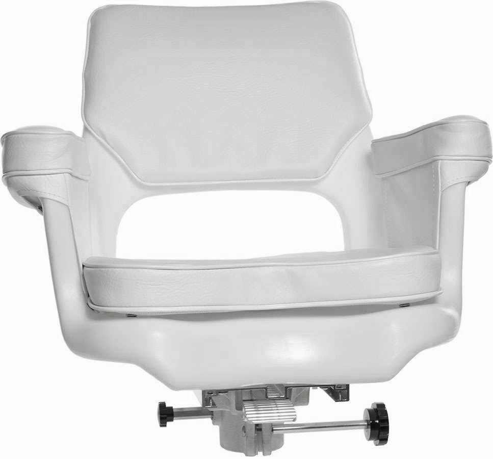 Todd 1556WCS Cape Cod Helm Seat, Cushion & Slider Package (#1000)