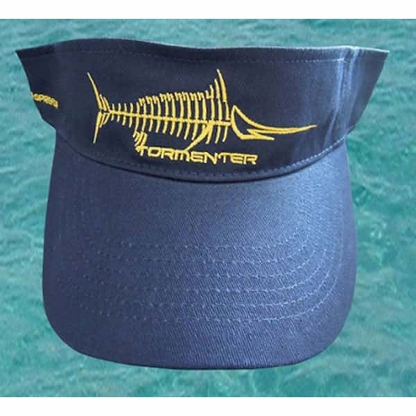 Tormenter Visor - Raging Tuna Logo Navy Blue TOR-0034-4