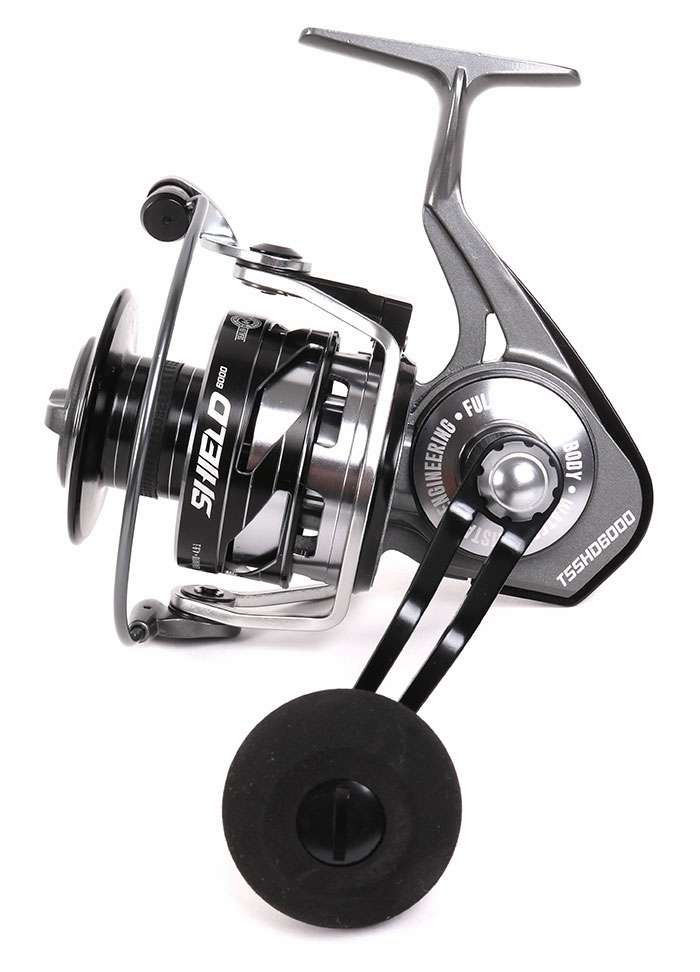 Tsunami tsshd6000 shield spinning reel tackledirect for Tsunami fishing reels