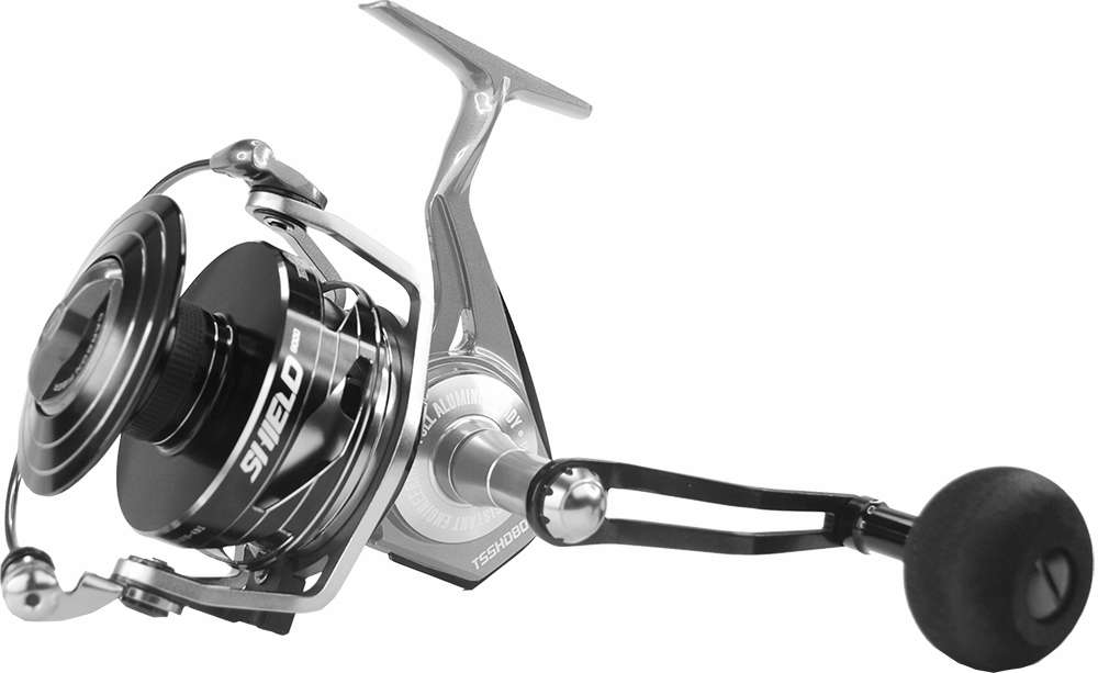 Tsunami tsshd8000 shield spinning reel tackledirect for Tsunami fishing reels