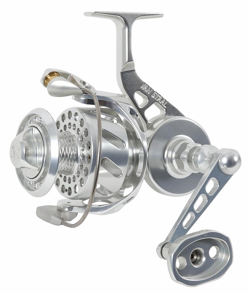 Van Staal VSB200XP VS X Bail Spinning Reel Polished Silver VSB200SXP