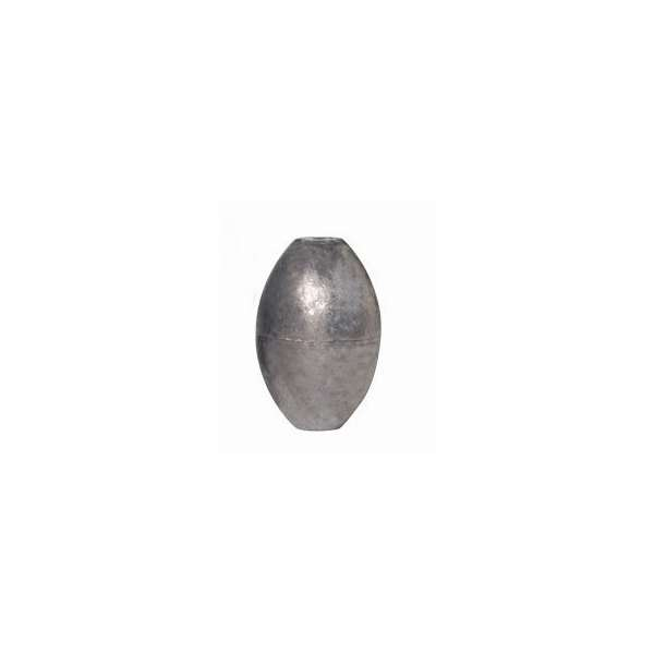 Slip Fishing Lead Weights 40 Sinkers Free Shipping 4 oz Egg