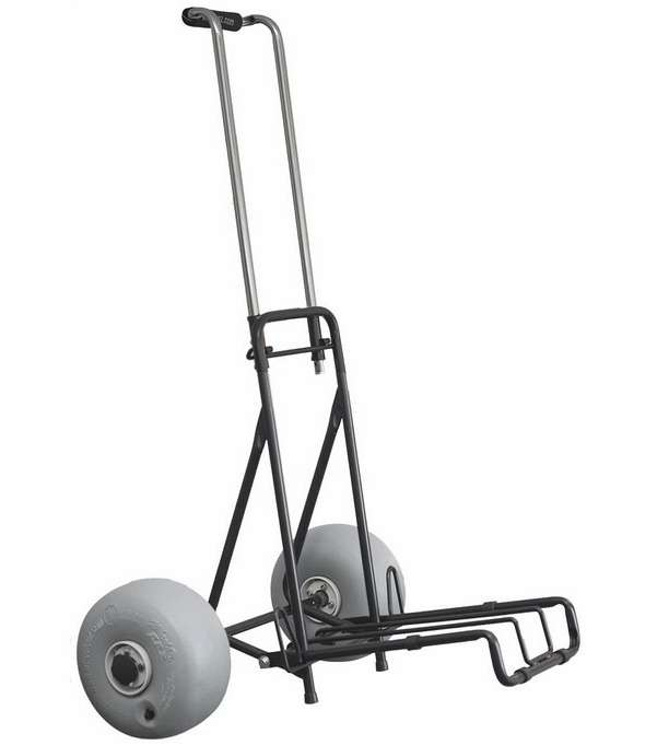 Wheeleez folding mini beach cart tackledirect for Folding fishing cart
