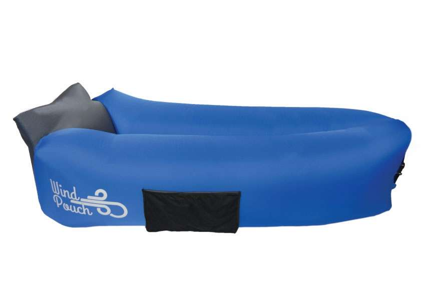 Good Windpouch Go Inflatable Hammock Cool Blue